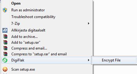 How to encrypt / decrypt files with a Flak